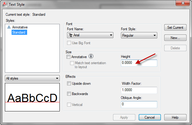 autocad_tips-text-style-for dimension-2