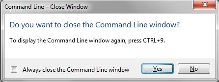 AutoCAD tips: Command line