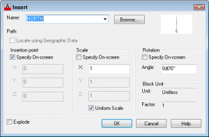 Insert a block in AutoCAD - AutoCAD Tips Blog