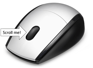 Zoom quickly and more by controlling your mouse's wheel
