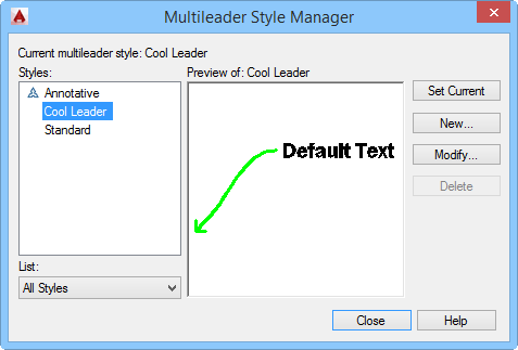 Create stylish leaders with a multileader style - AutoCAD