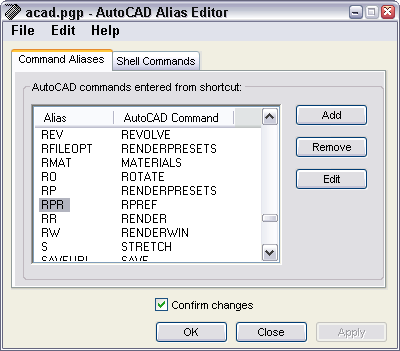 Tutorial: Create a command alias (keyboard shortcut) - AutoCAD Tips Blog