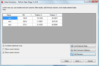 Refine Data - extract attributes in AutoCAD