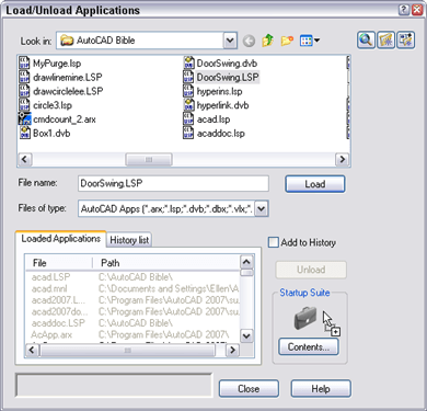 How do I get all my AutoLISP routines to load themselves? - AutoCAD