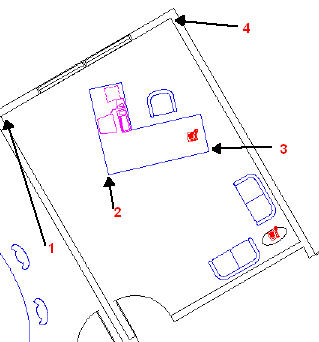 Rotate One Object to Match Another - AutoCAD Tips Blog