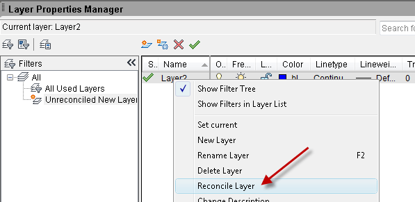 Get notification when layers are added to your drawing—or not